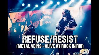 Sepultura feat. Les Tambours du Bronx - Refuse/Resist (Metal Veins - Alive at Rock in Rio)