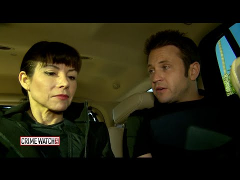 Crime Watch Daily: Ride-Along With L.A. County Probation Dept. - Pt. 1