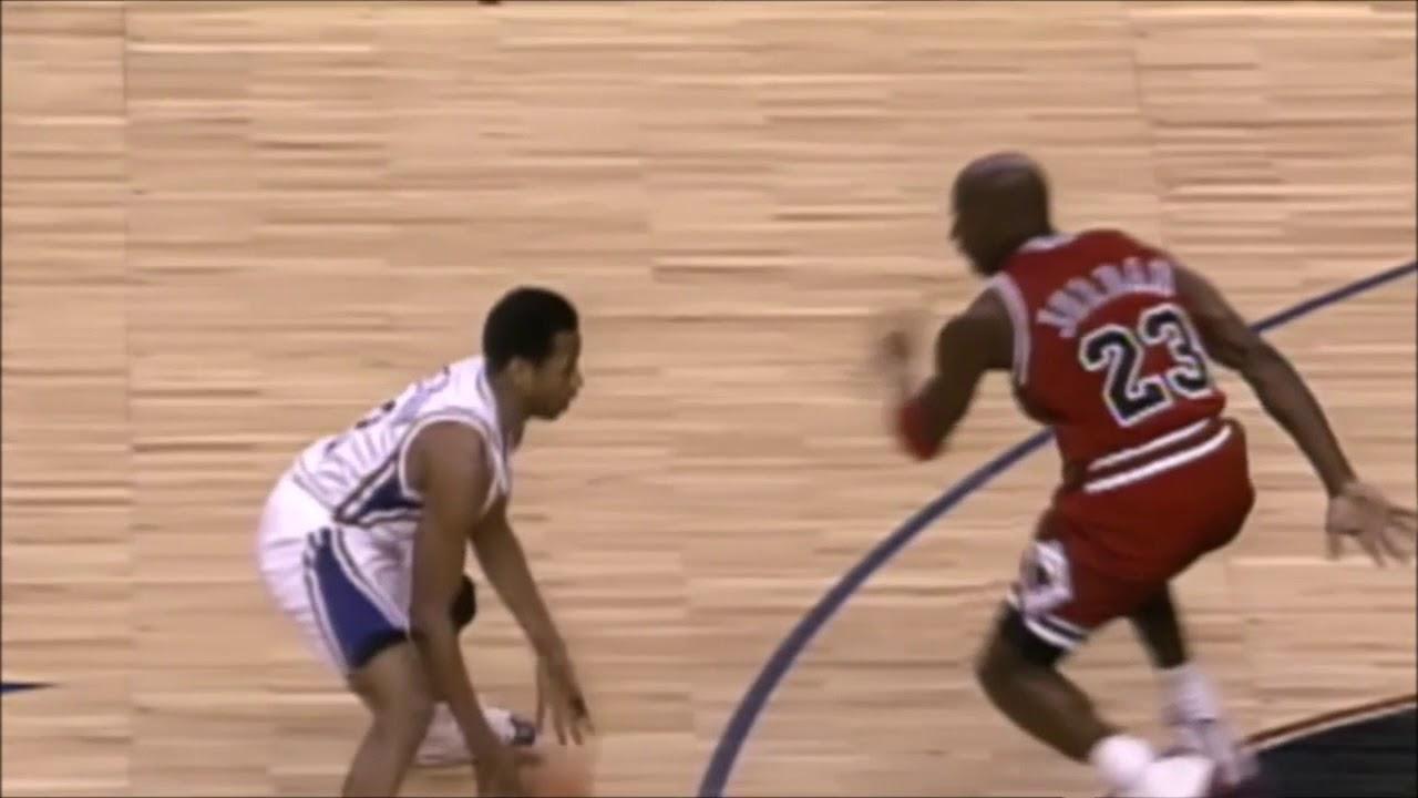 4ca2f7af6ded Allen Iverson Shakes Michael Jordan. WOW ! - YouTube