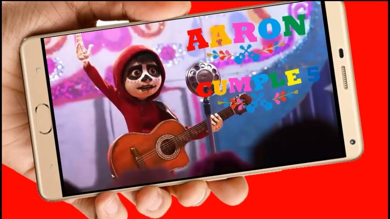 Coco De Disney Vídeo Tarjeta De Invitación Digital Para Cumpleaños Y Whapsapp Aquisevendeccs