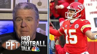 Inside Kansas City Chiefs locker room after AFC Championship | Pro Football Talk | NBC Sports thumbnail