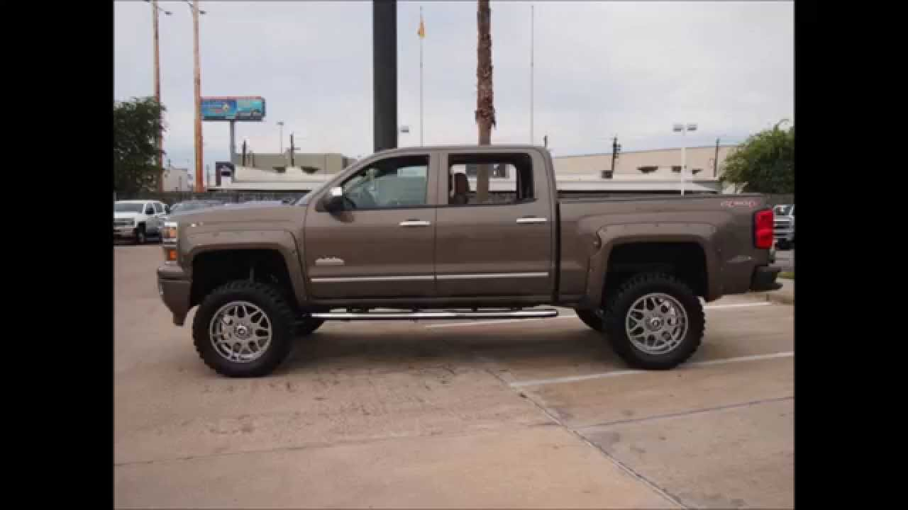 2014 Chevrolet Silverado 1500 High Country Lifted Truck Youtube
