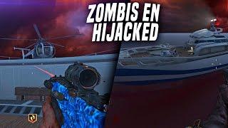 """""""ZOMBIS en HIJACKED"""" ¿¡¿WTF?!? JUGANDO JUEGO de ARMAS con ZOMBIS en HIIJACKED en BLACK OPS 3"""