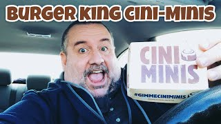 Burger King Cini Minis Are Back