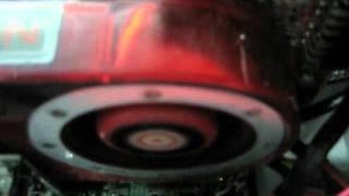 sound of the fan of the ati radeon 4870 vga card mp4