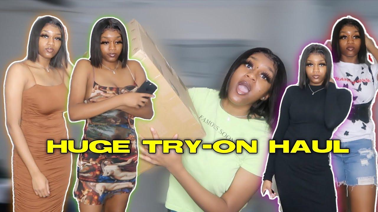HUGE TRY-ON HAUL (SHEIN,PRETTYLITTLETHING, & FASHION NOVA)