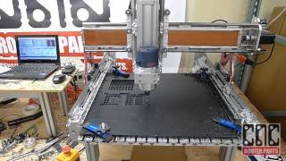 "Cnc Router Parts ""benchtop Pro"" Demo"