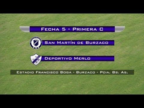 Fecha 5: San Martín de Burzaco vs Dep. Merlo - EN VIVO