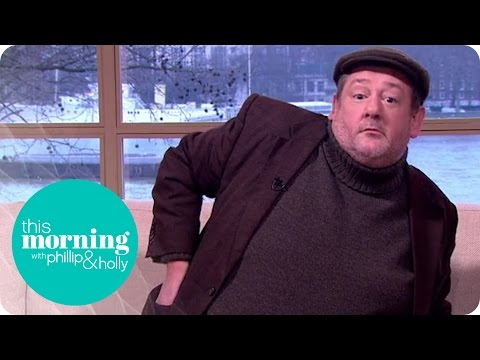 Johnny Vegas Caught 'Stealing' From the Studio!   This Morning