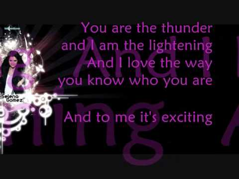 Selena Gomez - Naturally [Lyric] + [Download Link]