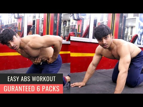 Easy ABS WORKOUT for GUARANTEED SIX Packs  (Hindi)