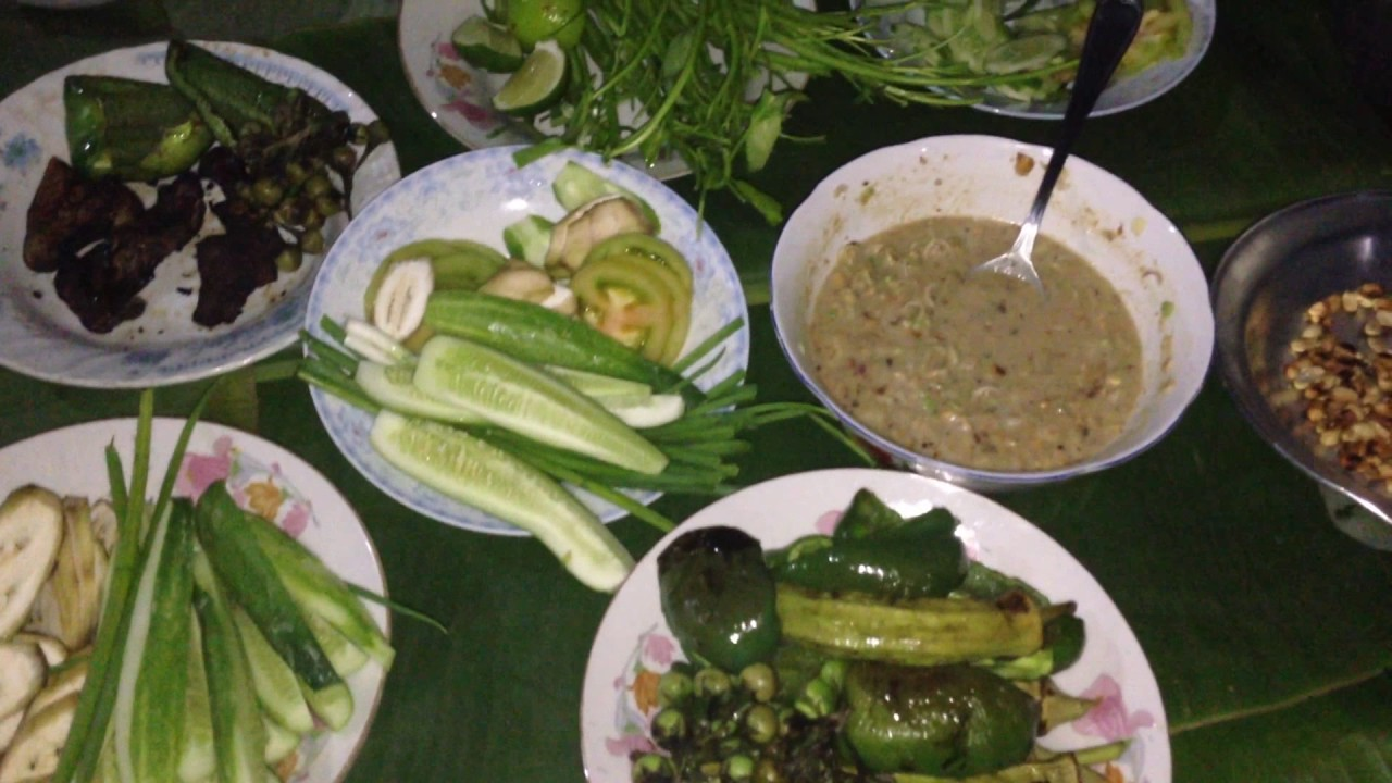 Download Cambodian Family Food Eating At Home, How we Cook And Eat In Our Family