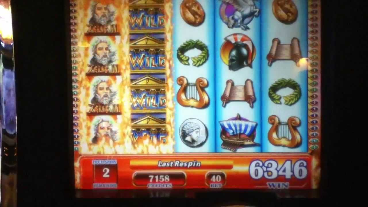 Zeus video slot machine flaming crates free slot machine
