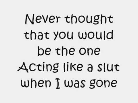 Kiss n Tell - Kesha-Lyrics on screen.