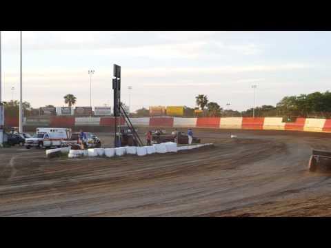 Bryan Bernhardt Heat Race 1 East Bay Raceway Park  4/9/16
