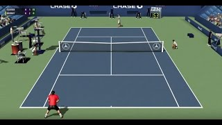 Full Ace Tennis Gameplay | MURRAY vs. FEDERER | FULL MATCH
