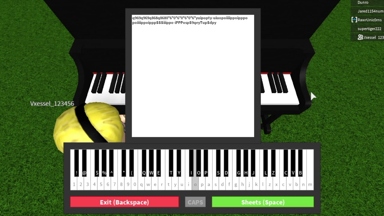 Gravity Falls Theme Song Roblox Piano Covers Youtube