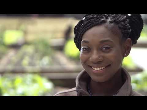 Urban Farming in East Harlem - Shontanyce Bailey provides healthy food to her community.
