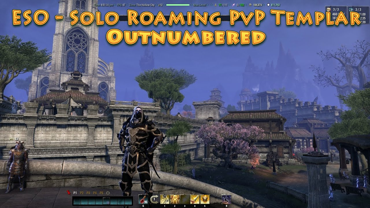 Eso Best Templar Build Pvp