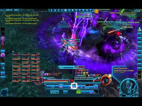 SWTOR 24 man Yavin IV World Boss