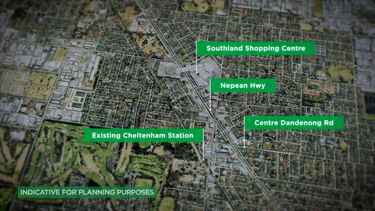 Suburban Rail Loop announcement