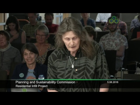 Planning and Sustainability Commission 05-08-2018