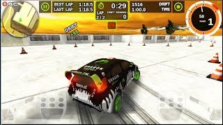 """Rally Racer Dirt - Rally Speed Car Drift Games """"Green Dragon Car"""" Android Gameplay FHD #9"""
