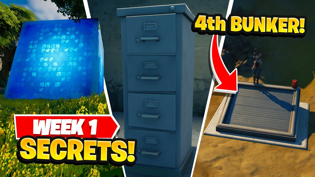 Download Fortnite | All Season 8 Map Updates and Story Secrets! WEEK 1 CUBES!