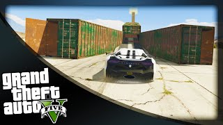 GTA 5 Funny Moments - 'CRAZY CONTAINERS!' (GTA 5 Online Funny Moments)