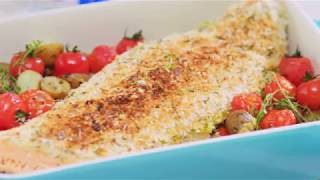 Oven Baked Salmon with Potatoes and Tomatoes Recipe – Cooking with Bosch