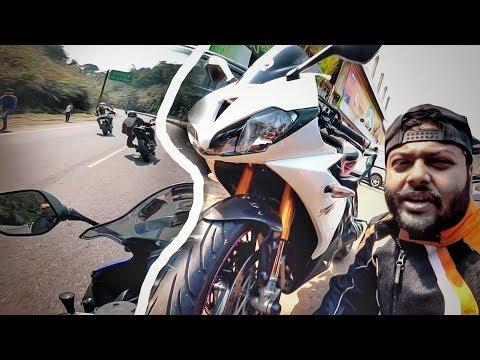 Kawasaki Z and TRIUMPH Daytona R | Riding with Future Rossi&#;s | NERD YOUTH | VLOG