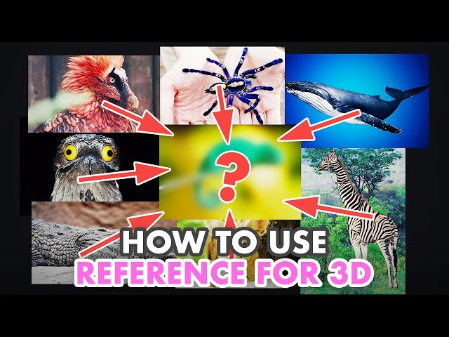 How to Correctly Use Reference Images as a 3D Aritst