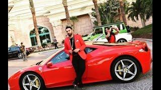 Driving a Ferrari 458 in Dubai through The Palm Jumeirah Tunnel like a BOSS