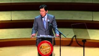 Senator Kevin De León - Swearing in as Senate Pro Tempore
