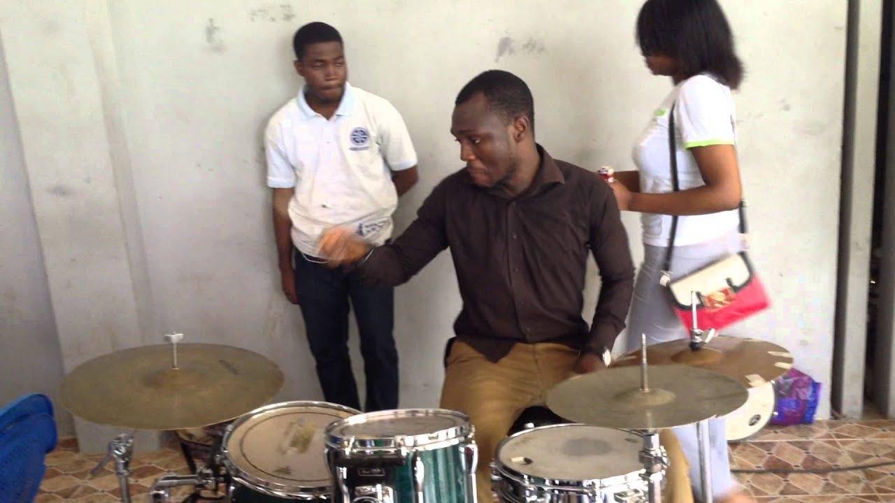 osakpa gideon after knust mass choir rehearsals - YouTube