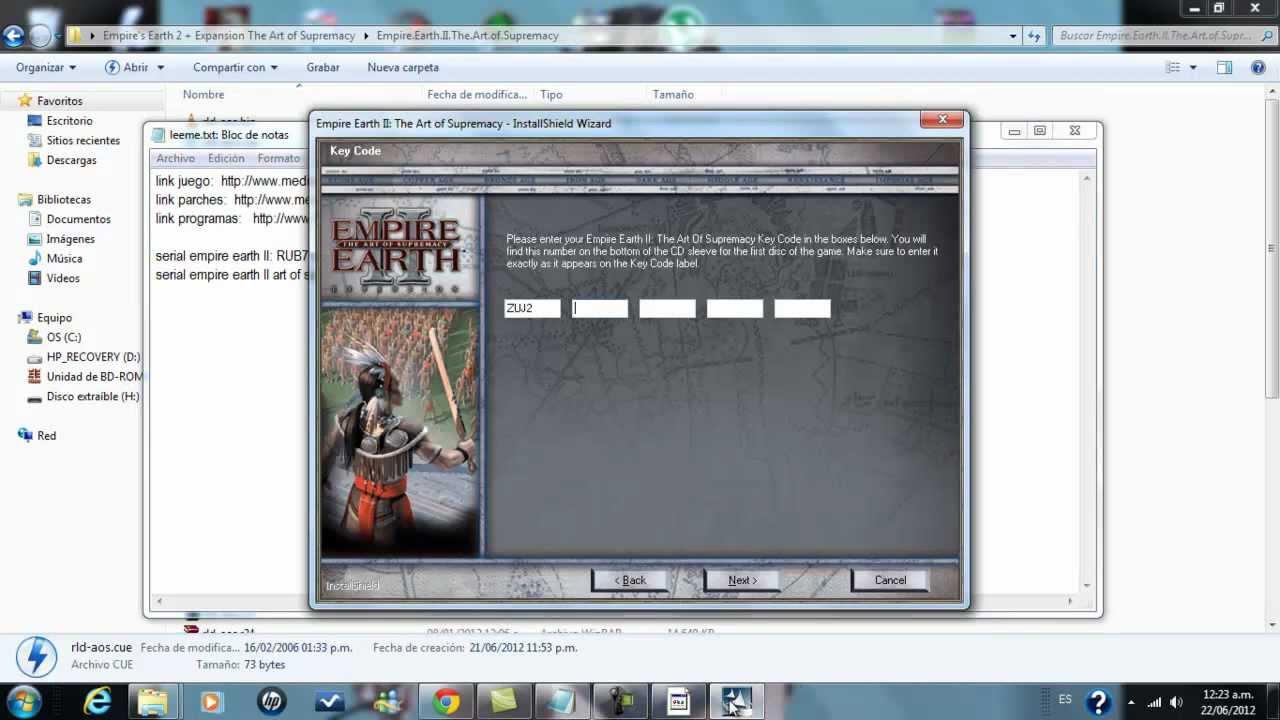 empire earth 2 download crack
