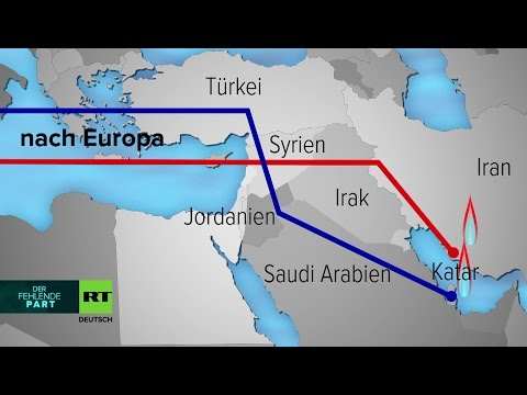 Die konkurrierenden Pipeline-Projekte in Syrien - DER FEHLENDE PART 09.12.2016 - Bananenrepublik