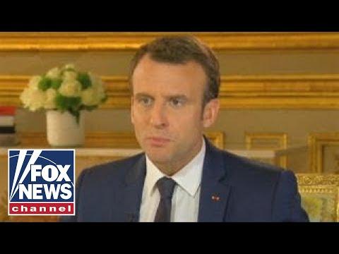 Macron never wonders if Trump will serve full term