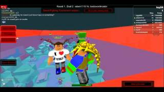 Toy28 (me) & Avengers Plays sword fighting tournament on ROBLOX!