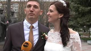 В Курске в выходные сыграли 500 свадеб