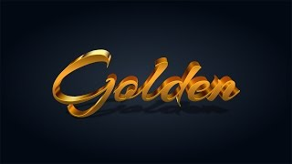 How to Make an Exquisite Gold Text Effect in Adobe Illustrator
