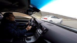 Infiniti G37s    vs   BMW  M3 (Е92) ...  Хонды что , совсем не едут ???