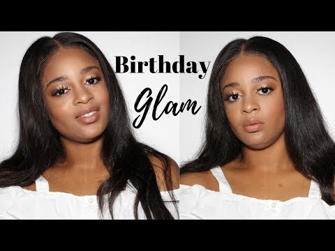 Chit Chat GRWM | Birthday Makeup | CongoleseSisters thumbnail