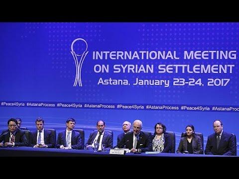 Türkiye, Rusya ve İran Suriye'deki ateşkesi gözlemleyecek
