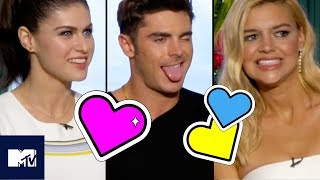 Zac Efron, Alexandra Daddario & The Baywatch Cast Go Speed Dating | MTV Movies