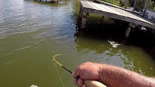 Crappie Fishing - How To Trigger Bites Under Docks