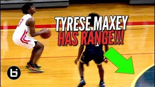 """WE GONNA FIND OUT WHO'S BAG IS BETTER?"" Tyrese Maxey VS RJ Hampton Full Highlights"