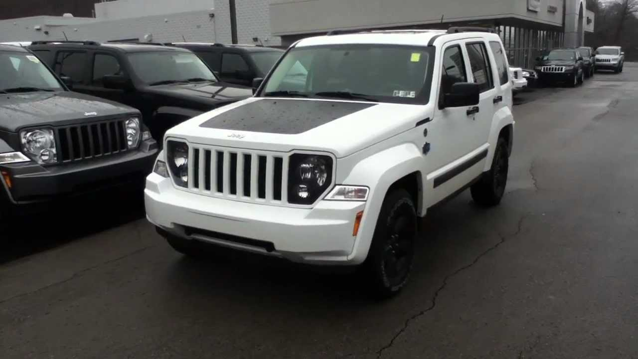 Craig Dennis' Best 2012 Jeep Liberty Arctic 4X4 with a Sunroof ...