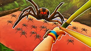 Killing The SECRET Spider BOSS in Grounded
