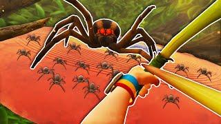 Killing The SECRET Spider BOSS in Grounded